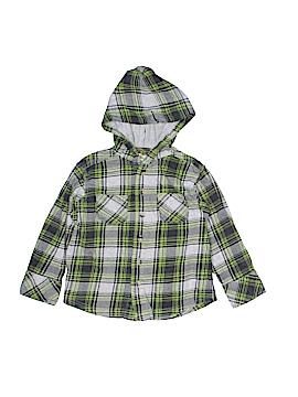 Ruff Hewn Long Sleeve Button-Down Shirt Size 3T