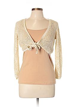 INC International Concepts Silk Cardigan Size L