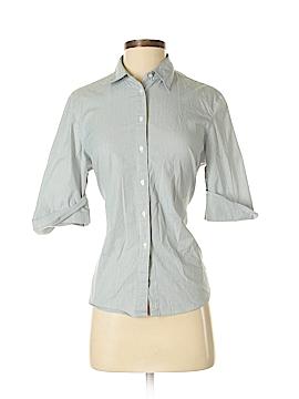 Cutter & Buck 3/4 Sleeve Button-Down Shirt Size M