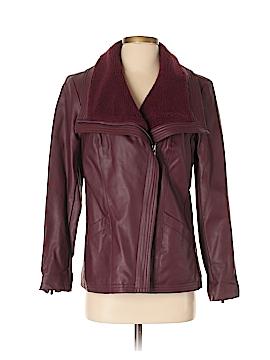 D&Co. Faux Leather Jacket Size XS