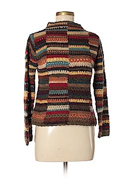 David Brooks Silk Pullover Sweater Size M