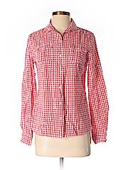 Tommy Hilfiger Women Long Sleeve Button-Down Shirt Size S