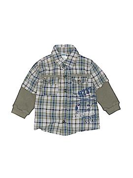 Kids Play Long Sleeve Button-Down Shirt Size 18 mo