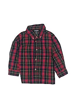 Mark Jason Long Sleeve Button-Down Shirt Size 12 mo