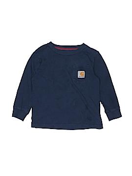 Carhartt Long Sleeve T-Shirt Size 4