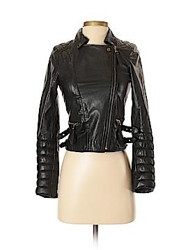 Zara Leather Jacket Size XS