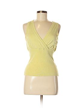 Janeville Sleeveless Silk Top Size M