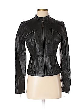 JouJou Faux Leather Jacket Size S
