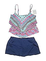 24th & Ocean Women Two Piece Swimsuit Size XL