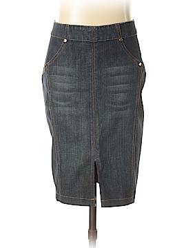 Bebe Denim Skirt 25 Waist