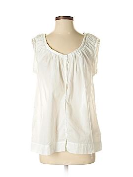 Banana Republic Sleeveless Button-Down Shirt Size XS