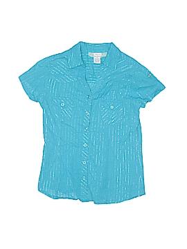 Japna Kids Short Sleeve Button-Down Shirt Size 10