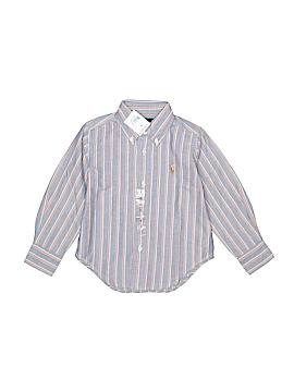 Polo by Ralph Lauren Long Sleeve Button-Down Shirt Size 2T