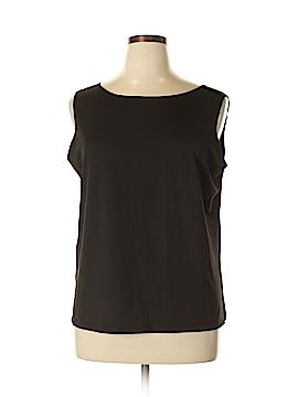 Susan Graver Sleeveless Blouse Size 1X (Plus)
