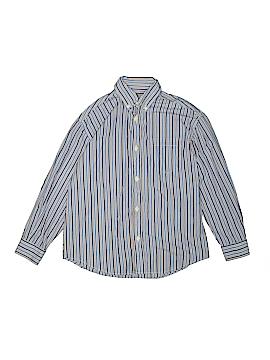Talbots Kids Long Sleeve Button-Down Shirt Size 10