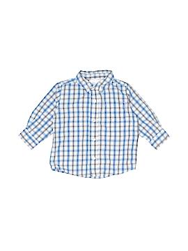Koala Baby Long Sleeve Button-Down Shirt Size 12 mo