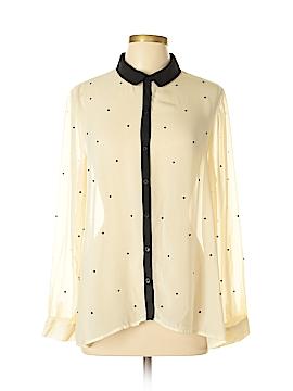 Lauren Conrad Long Sleeve Blouse Size L