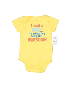 Walmart Short Sleeve Onesie Size 0-3 mo