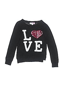 Derek Heart Pullover Sweater Size M (Kids)