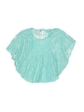 Speechless Short Sleeve Blouse Size M (Youth)