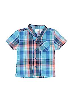 Kidgets Short Sleeve Button-Down Shirt Size 3T