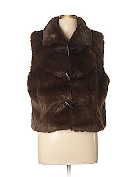 Metro7 Faux Fur Vest Size XL