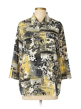 Southern Lady 3/4 Sleeve Blouse Size L