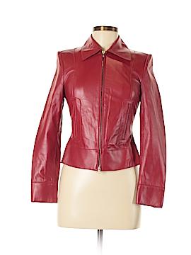 Classiques Entier Leather Jacket Size 0