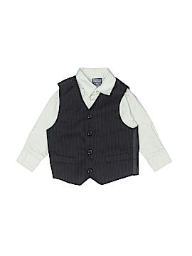 Perry Ellis Portfolio Long Sleeve Button-Down Shirt Size 2T