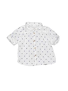 Zara Baby Long Sleeve Button-Down Shirt Size 9-12 mo
