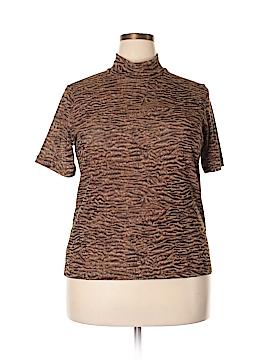 Elisabeth by Liz Claiborne Short Sleeve Top Size 1X (Plus)
