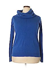 Roz & Ali Women Pullover Sweater Size 1X (Plus)