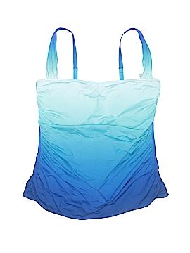 Bleu Rod Beattie Swimsuit Top Size 16W