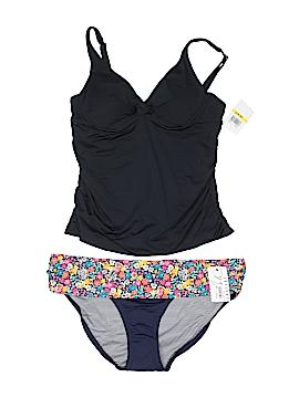 Anne Cole Signature Two Piece Swimsuit Size XL