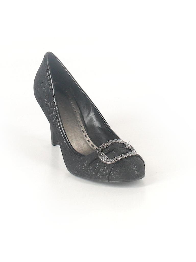 ebc7cda0852 Gianni Bini Solid Black Heels Size 7 1 2 - 83% off