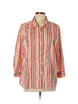 Sag Harbor Long Sleeve Blouse Size XL