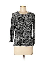 Rafaella Women 3/4 Sleeve T-Shirt Size M