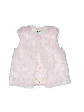 OshKosh B'gosh Faux Fur Vest Size 2T