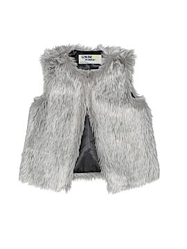 OshKosh B'gosh Faux Fur Vest Size 2T - 3T