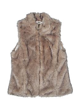 Zara Faux Fur Vest Size 13 - 14