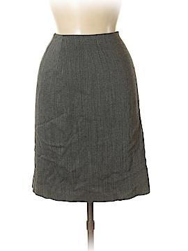 Linda Allard Ellen Tracy Wool Skirt Size 6 (Petite)
