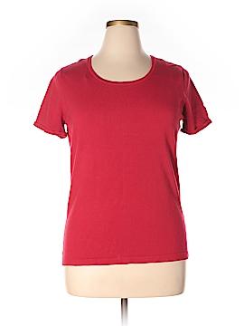 Jones New York Collection Short Sleeve Top Size XL