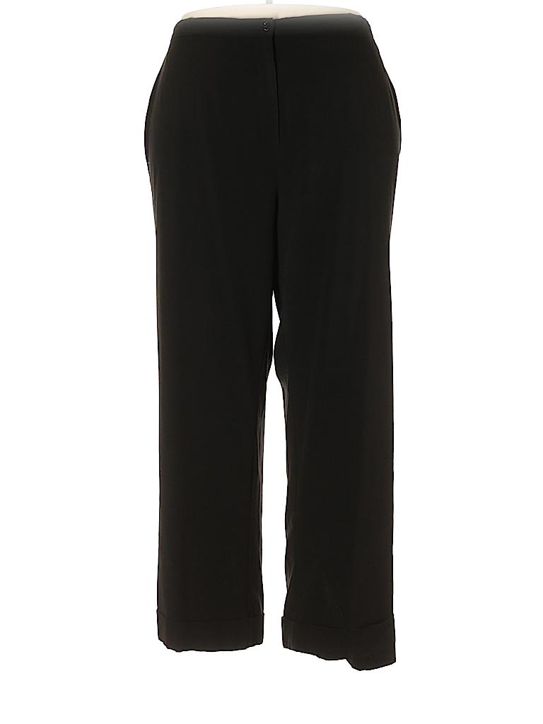 3f20ace35fdcb Maggie Barnes Solid Black Dress Pants Size 22 (Plus) - 75% off