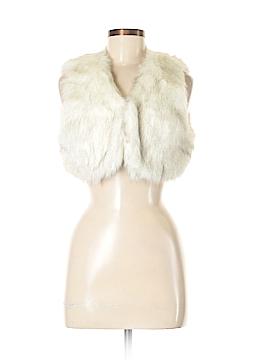Ark & Co. Faux Fur Vest Size M