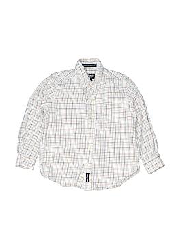 E-Land Long Sleeve Button-Down Shirt Size 5