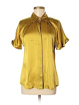 Pendleton Short Sleeve Silk Top Size S