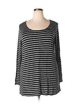 Apt. 9 Long Sleeve T-Shirt Size 1X (Plus)