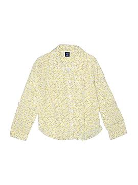 Gap Kids Long Sleeve Button-Down Shirt Size 6 - 7 Slim (Slim)