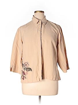 Preston & York 3/4 Sleeve Silk Top Size XL