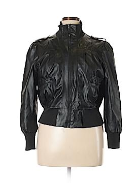 Last Kiss Faux Leather Jacket Size 1X (Plus)